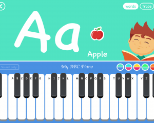 My ABC Piano Words